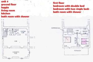 Borgo Casciano 4 floor plan