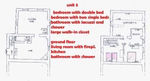 Borgo Casciano 5 floor plan