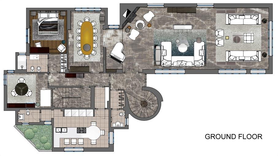 Roma Elegante Ground Floor