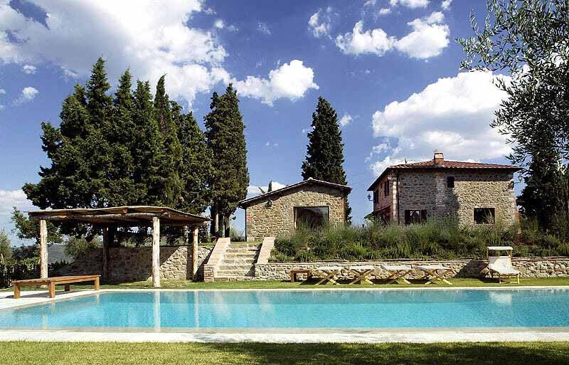 Perla di siena gira italian villas for Rent a home in italy
